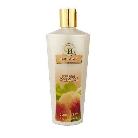 Loção Hidratante Concept II Peach Velvet 236ml - Feminino