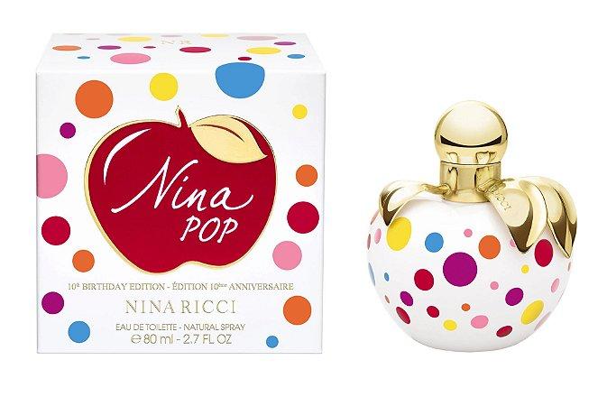 Nina Pop Birthday Edition Eau de Toilette Nina Ricci 50ml - Perfume Feminino