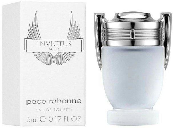 586e3342fa Miniatura Invictus Aqua Eau de Toilette Paco Rabanne 5ML - Perfume Masculino
