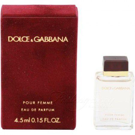 Miniatura Dolce & Gabbana Pour Femme Eau de Parfum 4.5ml - Perfume Feminino
