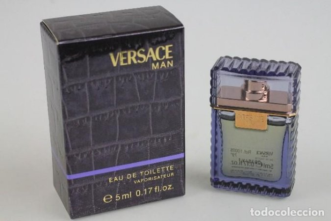 Miniatura Versace Man Eau De Toilette Versace 5ML - Perfume Masculino