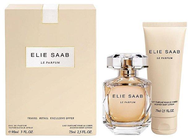 Kit Elie Saab Eau de Parfum 90ml + Loção Corporal 75ml Travel