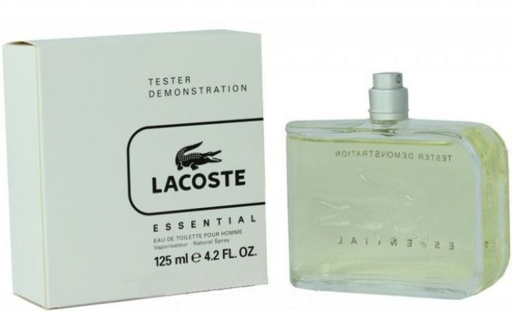 c897b514d87 Tester Lacoste Essential Pour Homme EDT 125ML - Perfume Masculino