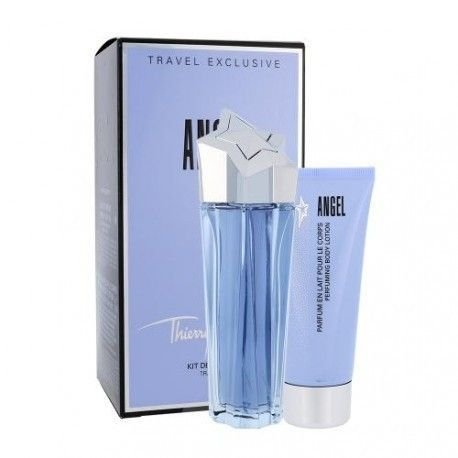 2c6e998fd Kit Angel Eau de Parfum Thierry Mugler 100ML + Body Lotion 100ML - Feminino