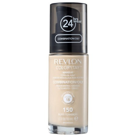 Base Revlon ColorStay Pele Mista e Oleosa Cor 150 Buff / Chamois 30ml - Base Líquida FPS 15