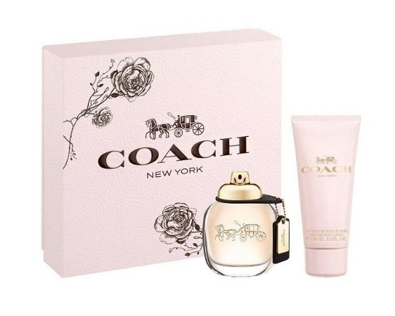 Coach 100ml New 50mlLoção Woman Corporal Eau De Parfum Kit York Feminino cTl3K1JF