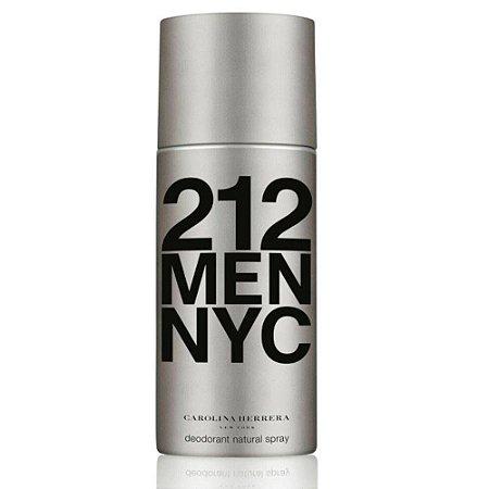 Desodorante  212 Men Nyc Carolina Herrera 150ML - Masculino