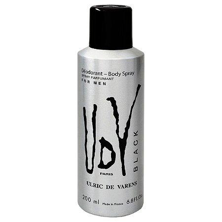 Desodorante UDV Black Ulric de Varens 200ml - Masculino