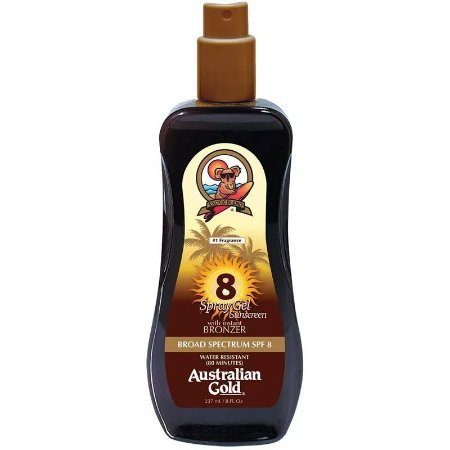 Spray Bronzeador Australian Gold Instant Bronzer FPS 8 - 237ml