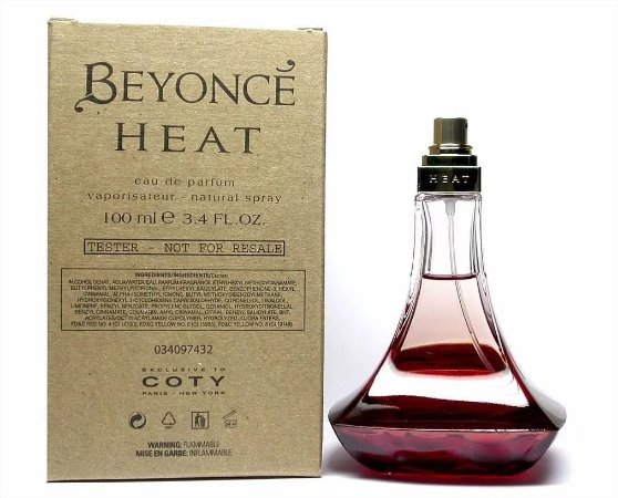Tester Beyoncé Heat Eau de Parfum 100ml - Perfume Feminino