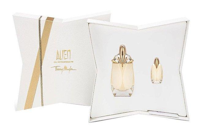 Kit Alien Eau Extraordinaire Thierry Mugler  Eau de Toilette 60ml + Miniatura 6ml - Feminino