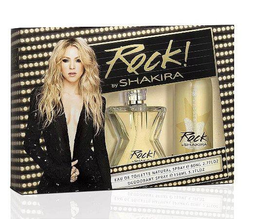 Kit Shakira Rock Eau de Toilette 80ml + Desodorante 150ml - Feminino