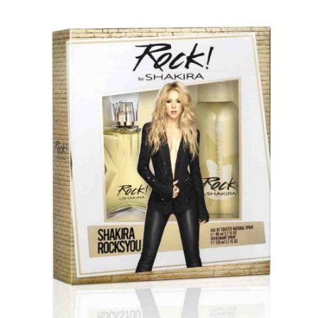 Kit Rock By Shakira Eau de Toilette 80ML + Body Spray 150ML - Feminino