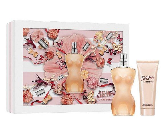 Kit Classique Jean Paul Gaultier Eau de Toilette 100ML + Body Lotion 75ML - Feminino