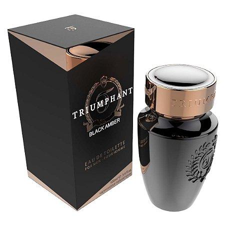 Black Amber Triumphant Eau de Toilette 100ml - Perfume Masculino