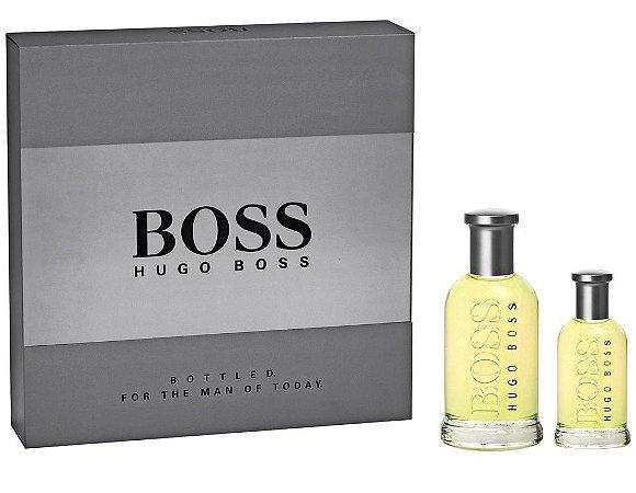 Kit Boss Bottled Hugo Boss Eau de Toilette 100ml + 30ml - Masculino