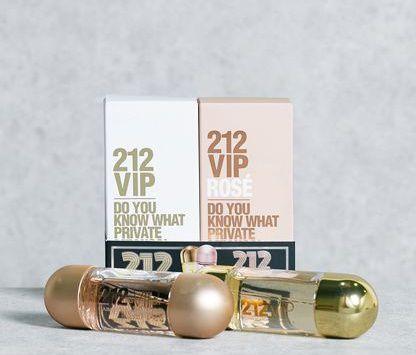 Kit 212 Vip Eau de Parfum 30ml + 212 Vip Rosé Eau de Parfum 30ml - Feminino