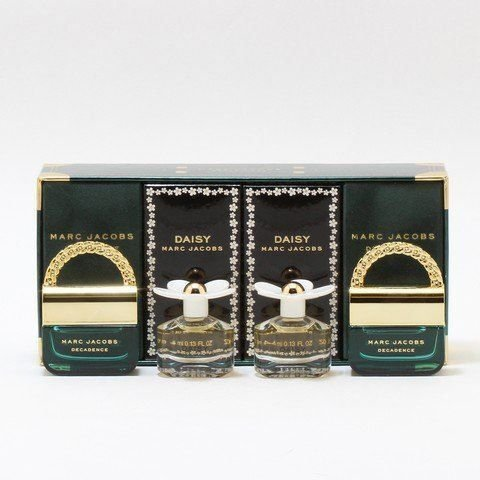 Kit Marc Jacobs Miniaturas: 2 Decadence EDP 4ml e 2 Daisy EDT 4ml - Feminino