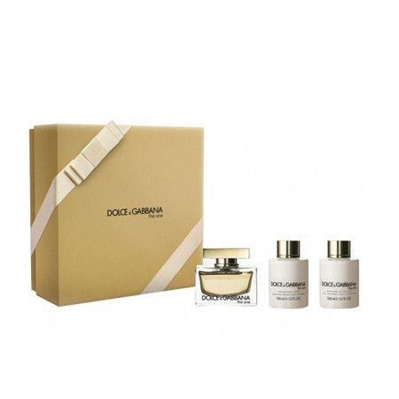 Kit Dolce & Gabbana The One Eau de Parfum 75ml + Body Lotion 100ml + Shower Gel 100ml - Feminino