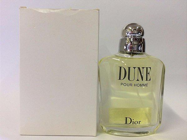 Tester Dune Pour Homme Dior Eau de Toilette 100ml - Perfume Masculino
