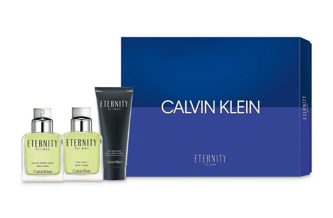 Kit Eternity Calvin Klein Eau de Toilette - Perfume Masculino + Afther Shave + Afther Shave Balm