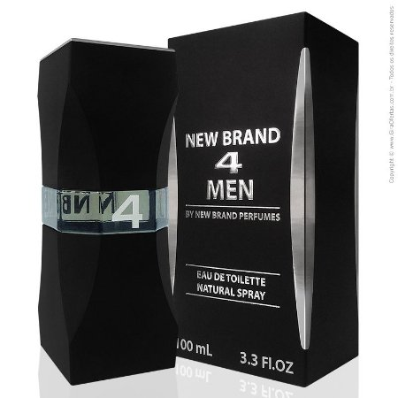 4 Men Eau de Toilette New Brand 100ml - Perfume Masculino