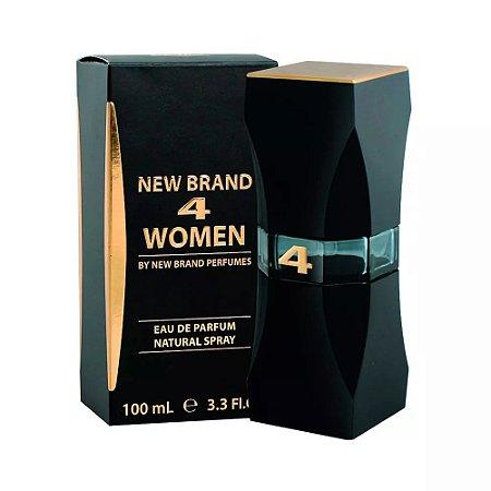 4 Women Eau de Parfum New Brand 100ml - Perfume Feminino