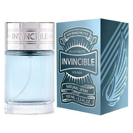 Invincible Eau de Toilette New Brand 100ml -  Perfume Masculino