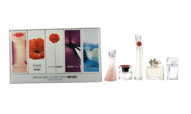 Kit Miniaturas Collection Kenzo Travel Exclusive - Perfumes Femininos