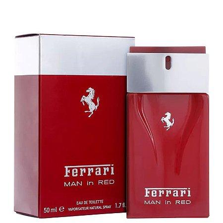 Man in Red Ferrari Eau de Toilette 50ml - Perfume Masculino