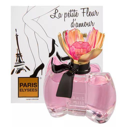 La Petite Fleur D'Amour Eau de Toilette Paris Elysees 100ml - Perfume Feminino