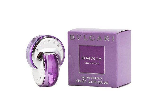 c8a22d02522ff MIniatura Bvlgari Omnia Amethyste Eau de Toilette 5ml - Perfume Feminino