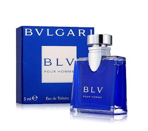 256f06503d5 Miniatura Bvlgari Blv Pour Homme Eau de Toilette 5ml - Perfume Masculino