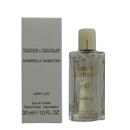 Tester Gabriela Sabatini Happy Life Eau de Toilette 30ml - Perfume Feminino