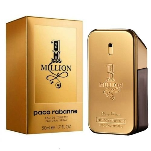 1 Million Eau de Toilette Paco Rabanne 50ml - Perfume Masculino