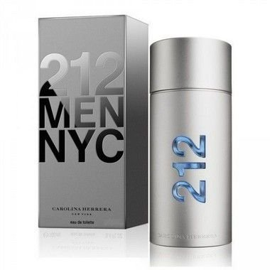 212 Men Eau de Toilette Carolina Herrera 50ml - Perfume Masculino