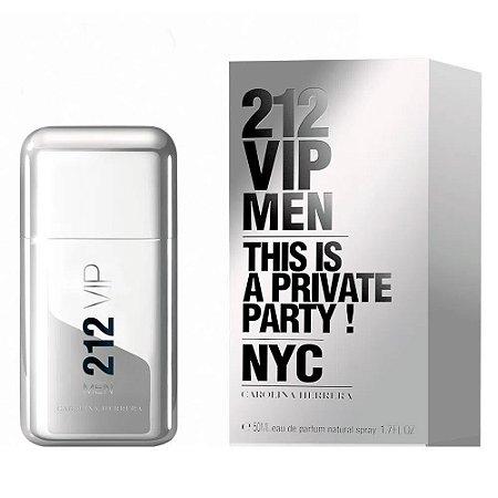 212 VIP Men Eau de Toilette Carolina Herrera 50ml - Perfume Masculino