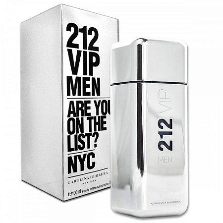 212 VIP Men Eau de Toilette Carolina Herrera 100ml - Perfume Masculino