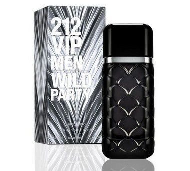 212 VIP Men Wild Party Eau de Toilette Carolina Herrera 100ml - Perfume Masculino