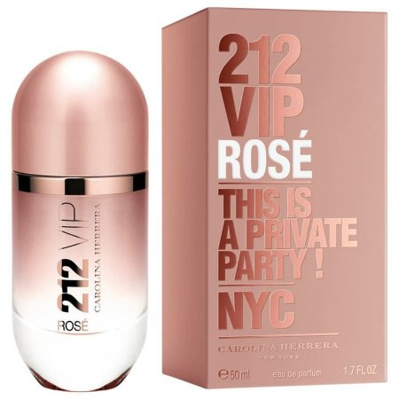 212 VIP Rosé Eau de Parfum Carolina Herrera 50ml - Perfume Feminino
