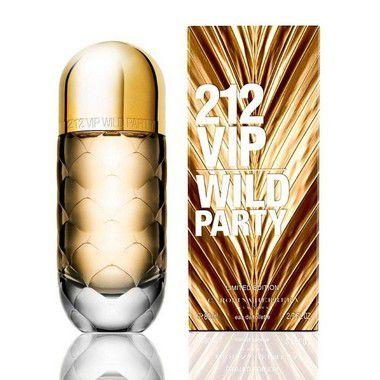 212 VIP Wild Party Eau de Toilette Carolina Herrera 80ml - Perfume Feminino