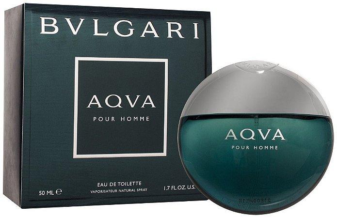 Bvlgari Aqva Pour Homme Eau de Toilette 50ml - Perfume Masculino