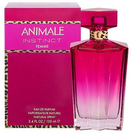 Animale Instinct Femme Eau de Parfum 100ml - Perfume Feminino