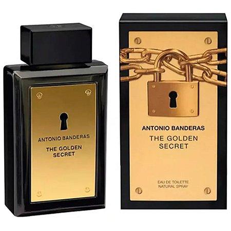 The Golden Secret Eau de Toilette Antonio Banderas 200ml - Perfume Masculino