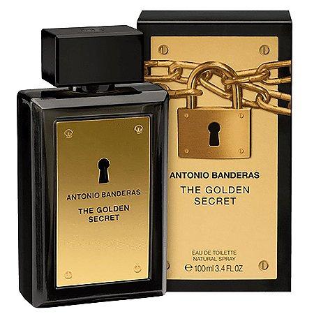 The Golden Secret Antonio Banderas Eau de Toilette 100ml - Perfume Masculino