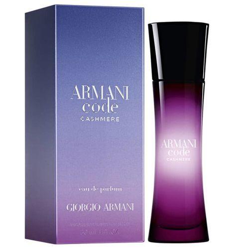 Armani Code Cashmere Eau de Parfum Giorgio Armani 30ml - Perfume Feminino