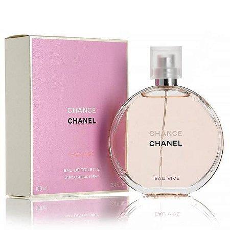 Chance Eau Vive Eau de Toilette Chanel 100ml - Perfume Feminino