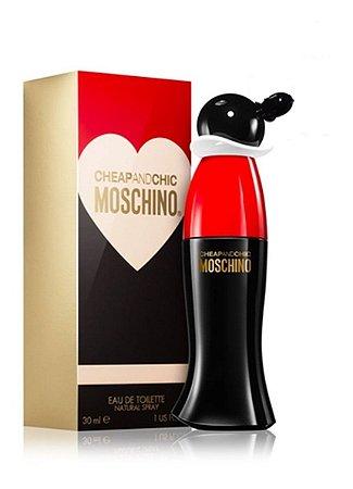 Cheap and Chic Eau de Toilette Moschino 30ml - Perfume Feminino