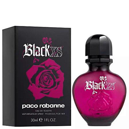 Black XS For Her Eau de Toilette Paco Rabanne 30ml - Perfume Feminino