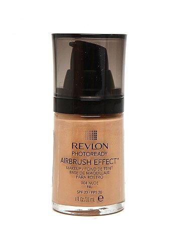 Base Líquida Photoready Airbrush Effect MakeUp Revlon - Nude - 30ml